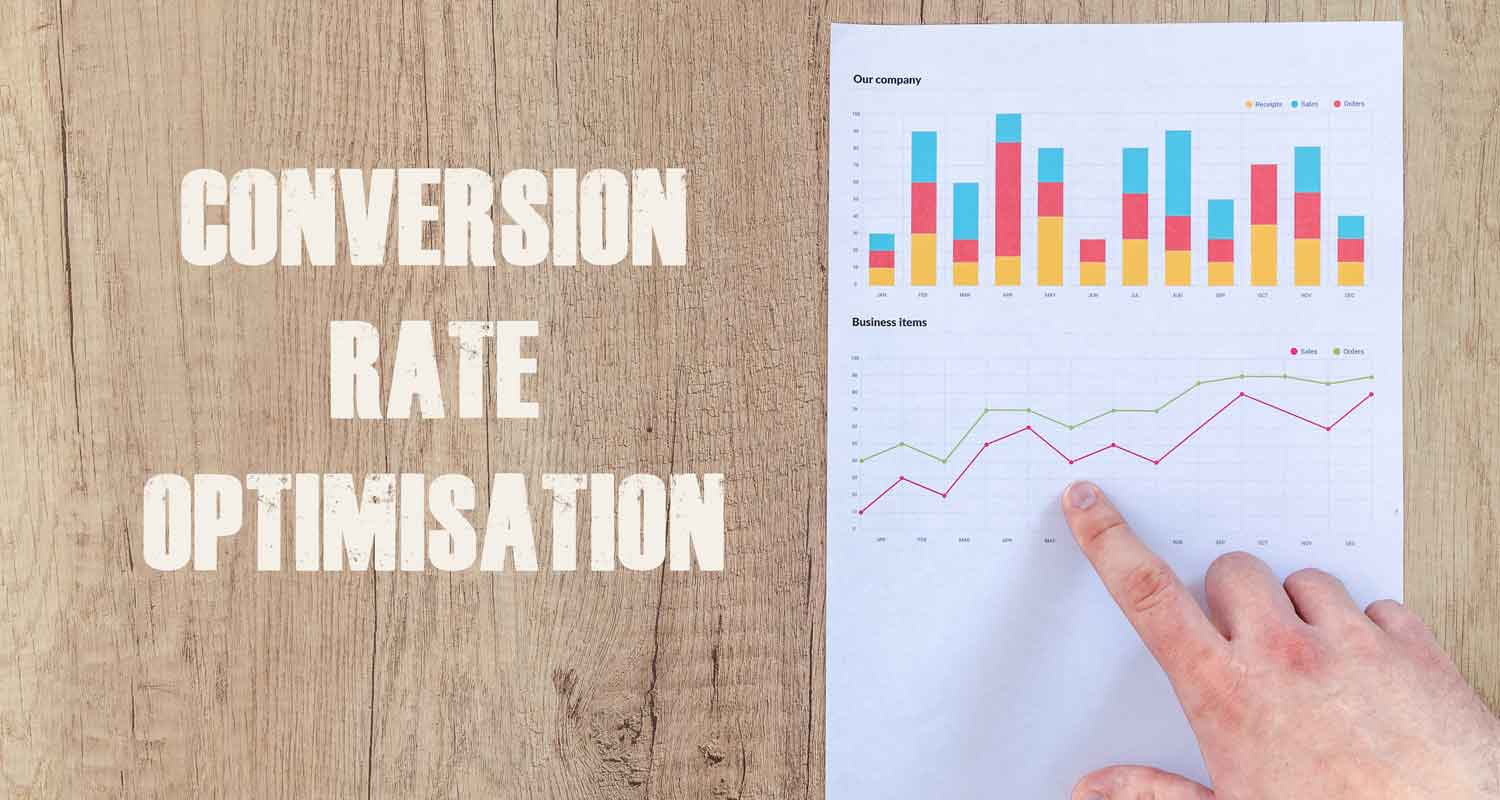 Chart showing successful conversion rate optimisation